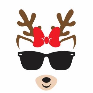 Cool Deer Vector
