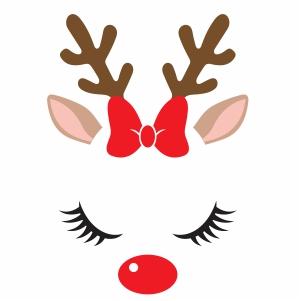 Cute Reindeer Vector