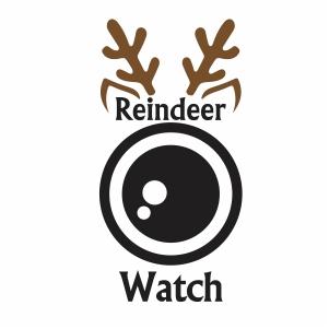 Reindeer Watch Vector