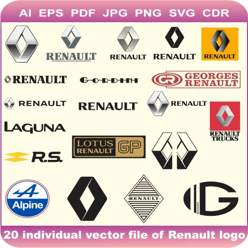 Renault Car Pack Logo