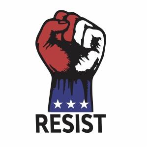 Resist Hand Vector