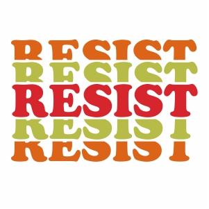 Resist Svg