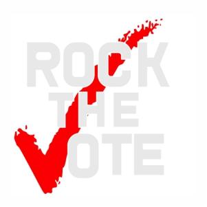 Rock the Vote logo Vector file