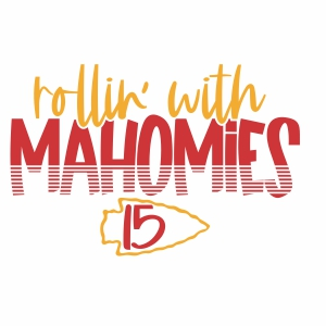 Rollin With Mahomies vector file