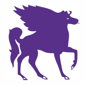 Unicorn Horse wings vector