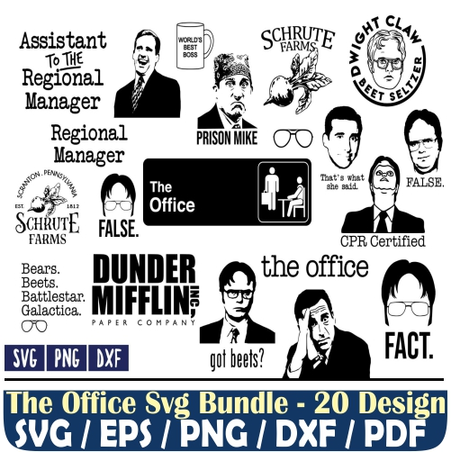 The Office Svg Bundle