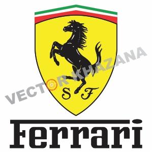 SF Ferrari Logo Svg