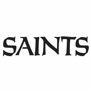 New Orleans Saints Logo Svg