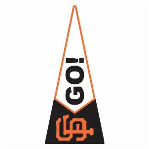 San Francisco Giants Go Logo Cut