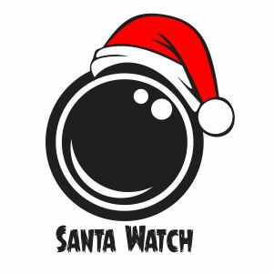 Santa Watch Svg