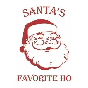 Santas face Favorite Ho svg file
