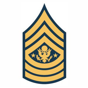 Sergeant Major Of The Army Sma Rank svg