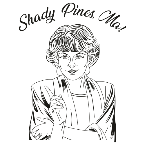 Shady Pines Ma Svg