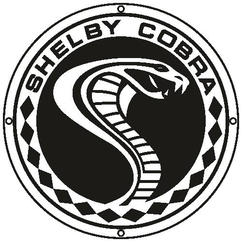 Shelby Cobra Svg