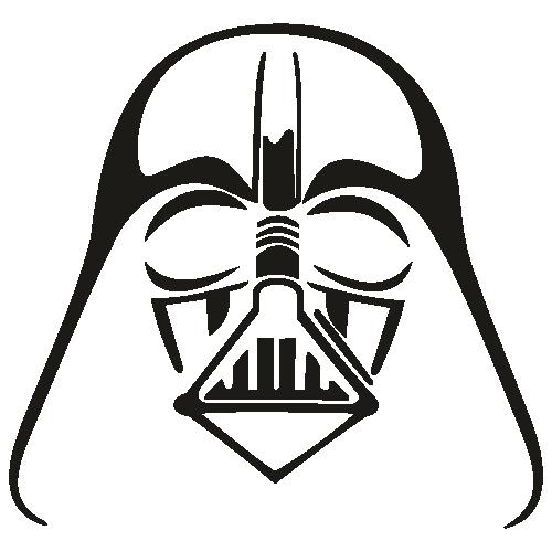 Silueta Darth Vader Svg