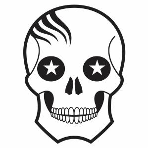 skeleton Face vector file