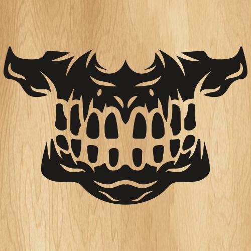 Skull Mask SVG
