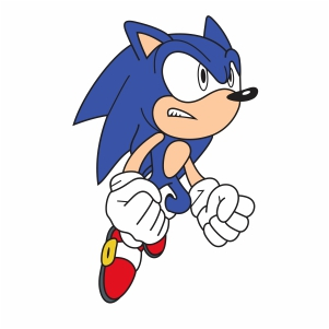 Sonic The Hedgehog Svg Sonic Cartoon Svg Cut File Download Jpg Png Svg Cdr Ai Pdf Eps Dxf Format