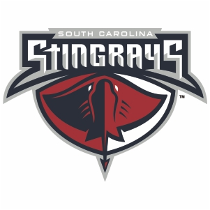 South Carolina Sting Rays Logo Vector