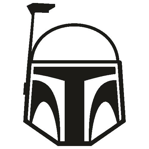 Star Wars Boba Fett Helmet Svg