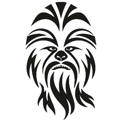 Star Wars Chewbacca Svg