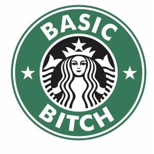 Starbucks Basic witch svg