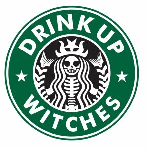 Starbucks Witches Svg