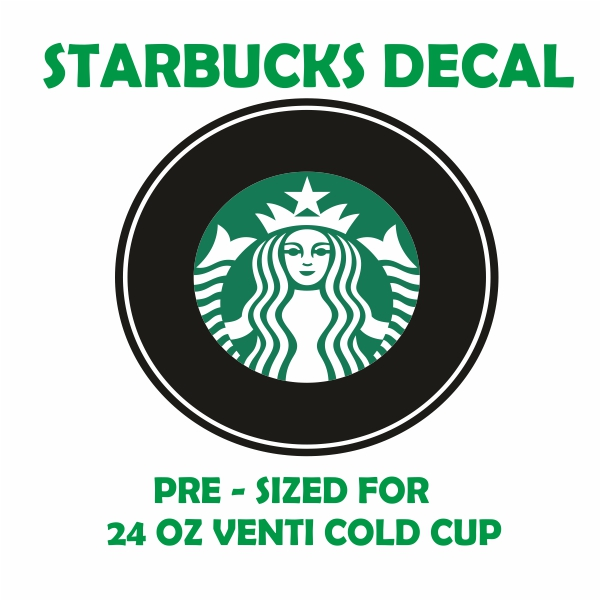 Starbucks Logo template Svg