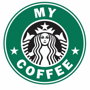 Starbucks my coffee logo svg