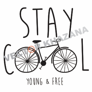 stay cool slogan  svg cut files