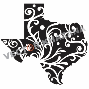 Free Texas Strong Map Logo Svg