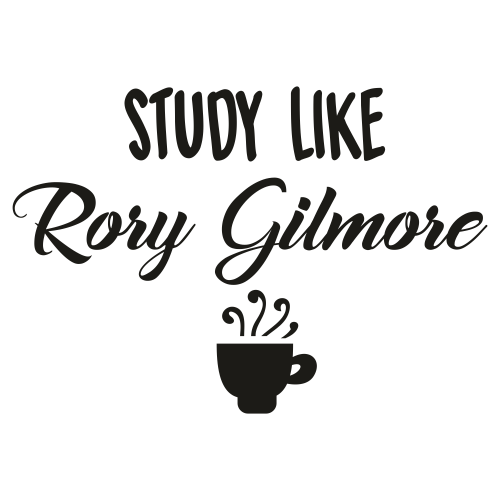Study Like Rory Gilmore Svg