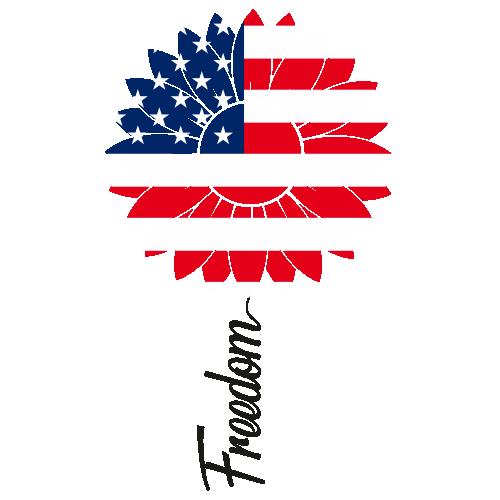 Sunflower Flag Freedom Svg