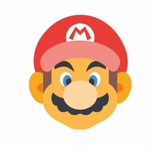 Super Mario Face Svg