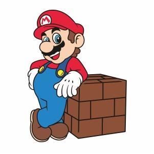 Super Mario Character Svg