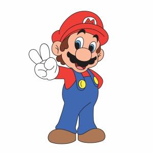 Super Mario Svg