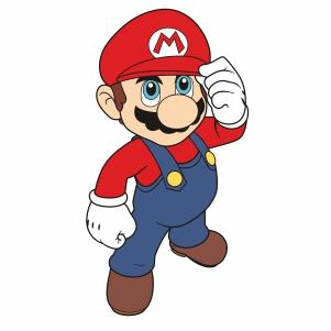 Super Mario Svg For Silhouette