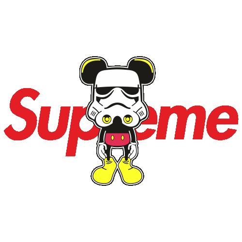 Supreme Cartoon Svg