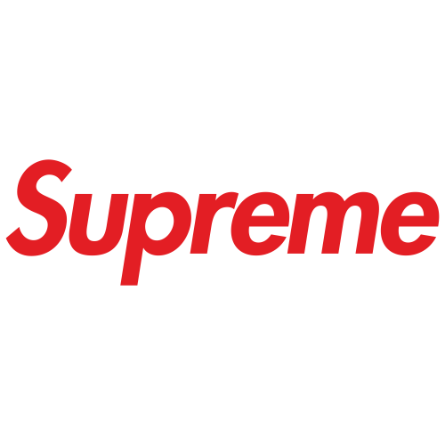 Supreme Red logo Svg