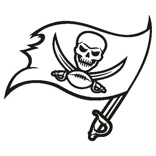 Tampa Bay Buccaneers Black Svg