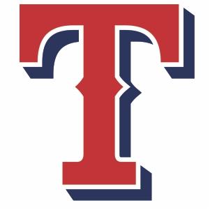Texas Rangers T Logo Svg