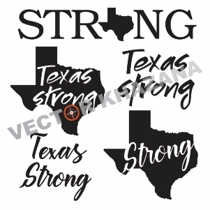 Free Texas Strong Logo Svg