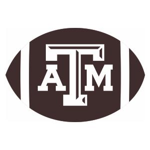 Texas A And M University Ball Logo Cut