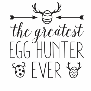 Easter Egg Hunt Hunter SVG file