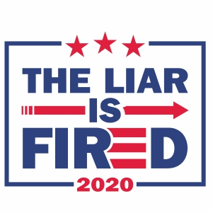 The Liar is Fired Svg
