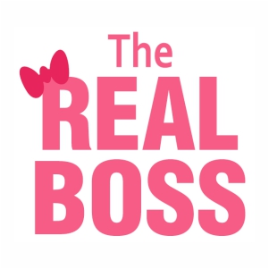 The Real Boss logo vector file