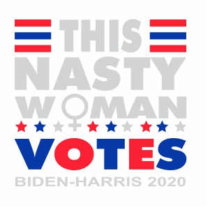 This Nasty Woman Votes Biden Harris 2020 Svg