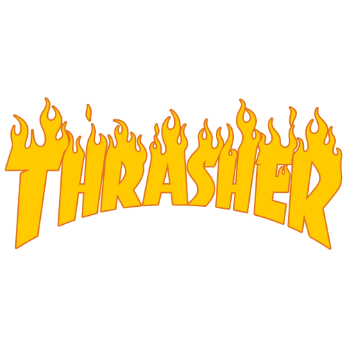 Thrasher Flame Logo Png