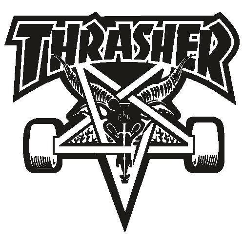 Thrasher car Logo Svg