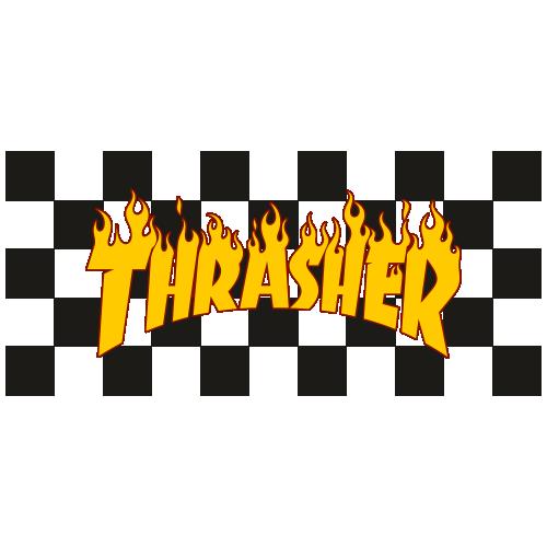 Thrasher Magazine Logo Vector